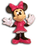 Disney Minnie Mouse Figurine 2.5""