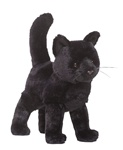 "Douglas 12"" MIDNIGHT STANDING CAT"