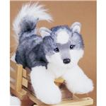 "Douglas 12"" Mini Floppy Joli Husky Dog"