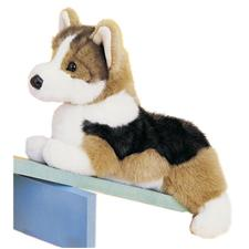 "Douglas 14"" Floppy Kirby Tri color Corgi Dog"