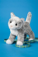 "Douglas 8"" Scatter Gray Cat"