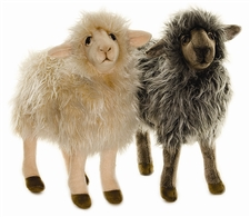 "16"" Hansa Sheep Mama Black (Image on the Right)"