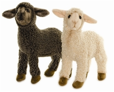 "12"" Hansa Sheep Kid Black (Image on Left)"