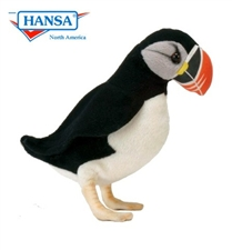 "9"" Hansa Puffin Penguin"