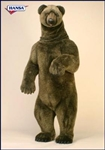 "78"" Hansa Grizzly Life Size"