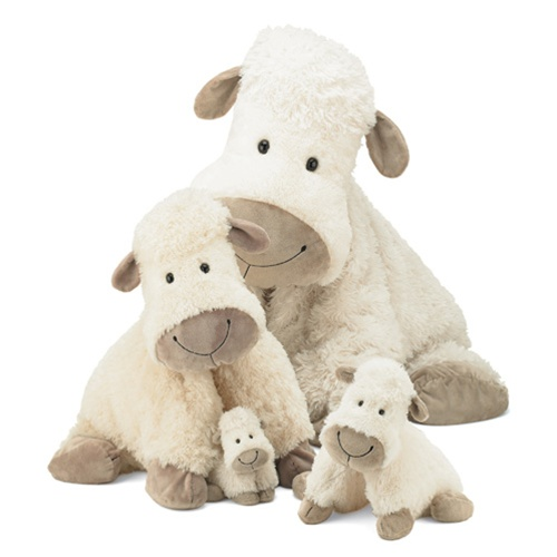 Jellycat Truffle Sheep 15 Quot On Right Discontinued