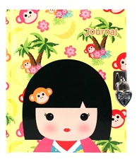 "6"" Kids Preferred 'Kimmidoll Junior' Leila Lock Up journal"
