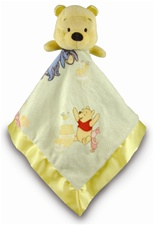 "Disney 14"" Kids Preferred Winnie the Pooh Blanky - Pooh"