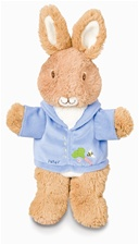 "10"" Kids Preferred Peter Rabbit hand puppet (D)"