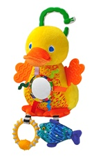 "9"" Kids Preferred Eric Carle Developmental Duck with sound"