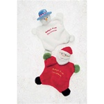 Mary Meyer Baby's First Christmas Mini Blanket Snowman