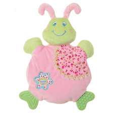 Mary Meyer Cutsie Caterpillar Wooby Chew