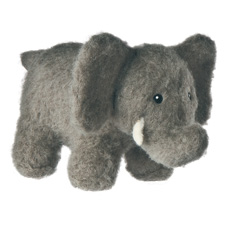 Mary Meyer Fuzz that Wuzz Mini Zzzzoo Elephant 6""
