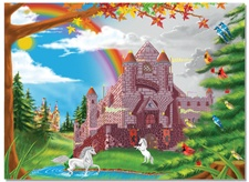 Melissa & Doug 60 pc Enchanted Castle Cardboard Jigsaw