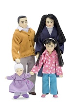 Melissa & Doug Victorian Doll Family (Asian) DISC