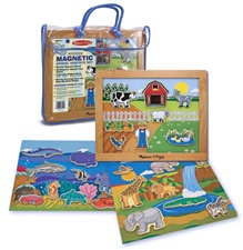 Melissa & Doug Magnetic Animal Habitats Set (DISC)