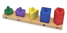 Melissa & Doug Stack & Sort Board