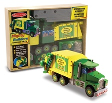 Melissa & Doug Garbage Truck - Mighty Builders (disc)