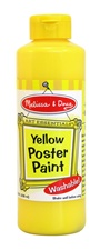 Melissa & Doug Yellow Poster Paint (8 oz)