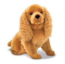 MD4856 2T Melissa & Doug Cocker Spaniel   Plush