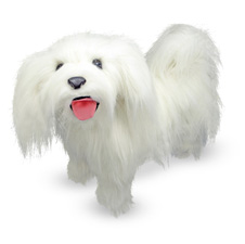 MD4858 2T Melissa & Doug Maltese   Plush