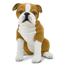 MD4865 2T Melissa & Doug English Bulldog   Plush