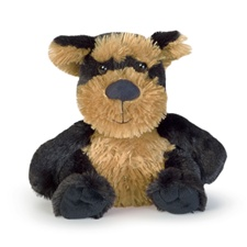 "Manhattan Toy Waggles 6"" Smitty Yorkie"