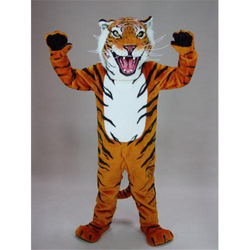Mask U S Bengal Tiger Mascot Costume
