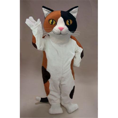 Mask U S Calico Cat Mascot Costume