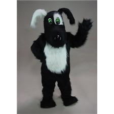 Mask U.S. Blackie Mascot Costume