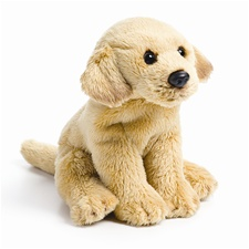 "5.5"" Nat & Jules Yellow Lab Dog"