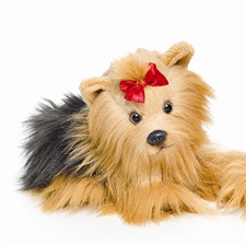 "9.5"" Nat & Jules Yorkshire Terrier Dog"