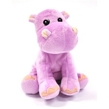 Snuggle Safari Hippo 7""