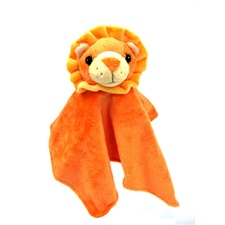 "Snuggle Safari Lion 10"" Blanket"