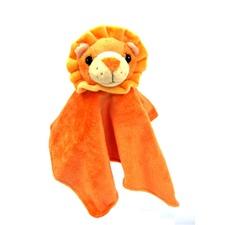 "Snuggle Safari Lion 10"" Blanket"