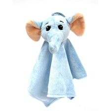 "Snuggle Safari Elephant 10"" Blanket"