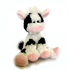 "Floppy Farmyard 7"" Charlie Cow"