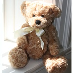 "Curly the Bear - Tan 18"" Teddy Bear by Beverly Hills Teddy Bear"