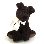 Scruffy the dog 10'' Chocolate