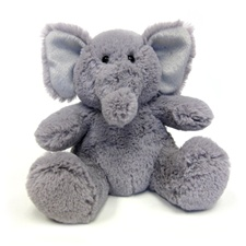 "Ellery the Elephant - 8"" Elephant by Beverly Hills Teddy Bear"