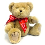 "Medium Red Merry Christmas Bow - Recommended for Animals 11"" to 24"" Long-BEAR NOT INCLUDED"