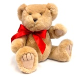 "Medium Red Bow - Recommended for Animals 11"" to 24"" Long-BEAR NOT INCLUDED"