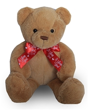 "20"" Teddy Bear Red I Love You Bow"