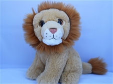 "Beverly Hills Teddy Bear 8"" Lion - Safari Friends"