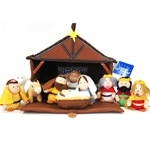 Tales of Glory Cloth Nativity 11 pc set