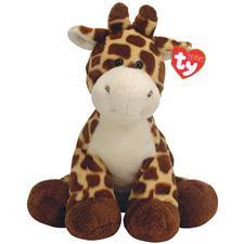 "Ty Pluffies 10"" Tiptop Giraffe"