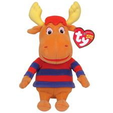 "Ty Beanie Babies 8"" Nick Jr's Backyardigans Tyrone Moose Discontinued"