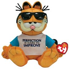 "Ty Beanie Babies 8"" Perfectly Lovable Garfield"