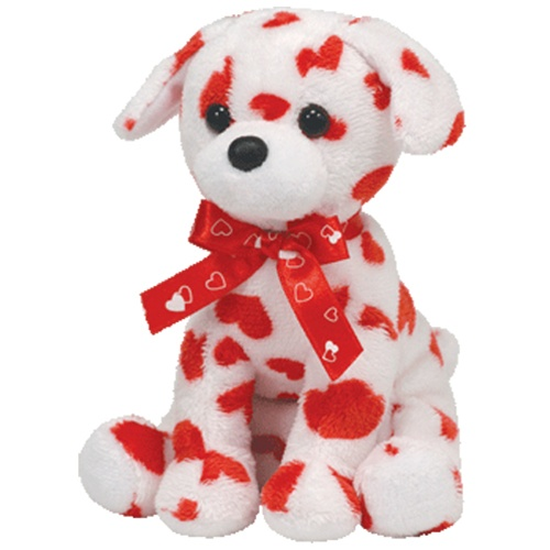 Valentine S Day Dog Toys : Ty beanie babies quot lovely valentine s day dog