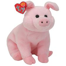 "Ty 2.0 Beanie Babies 8"" Sniff Pig (disc)"